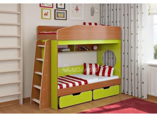 Двухъярусная кровать «Легенда 10.2»