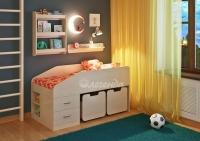 Детская кровать «Легенда 8» с полками