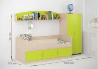 Детская кровать «Легенда 21»