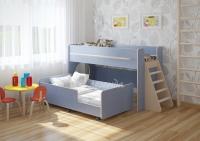 Двухъярусная кровать выкатная «Легенда 23.3»