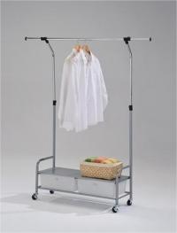 Вешалка для одежды с полкой