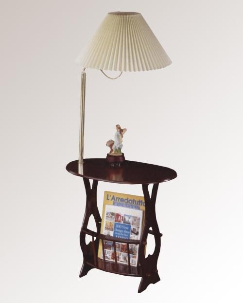 Столик журнальный с торшером