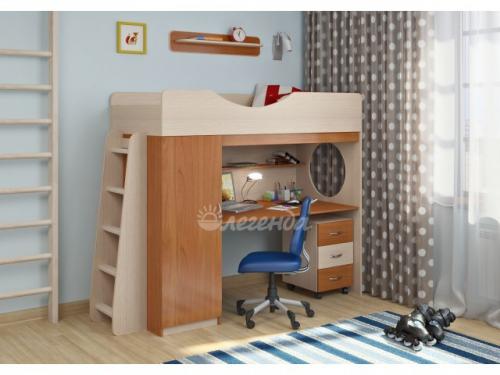 -Кровать-чердак с тумбой «Легенда 9.2».