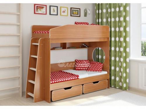 -Двухъярусная кровать «Легенда 10.2».