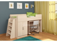 -Кровать «Легенда 2.2» со столом для творчества.