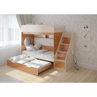 Трехъярусная кровать выкатная «Легенда 10.5»