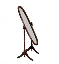 Зеркало напольное овал