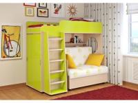 -Односпальная кровать «Легенда 5.1» со шкафом-купе.