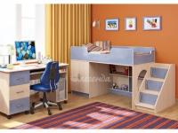 -Кровать «Легенда 2.3» с компьтерным столом.