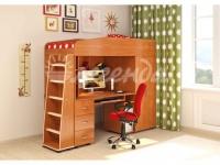 -Кровать-чердак со столом «Легенда 1».