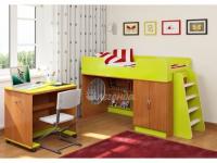 Кровать со столом для творчества «Легенда 2.2»